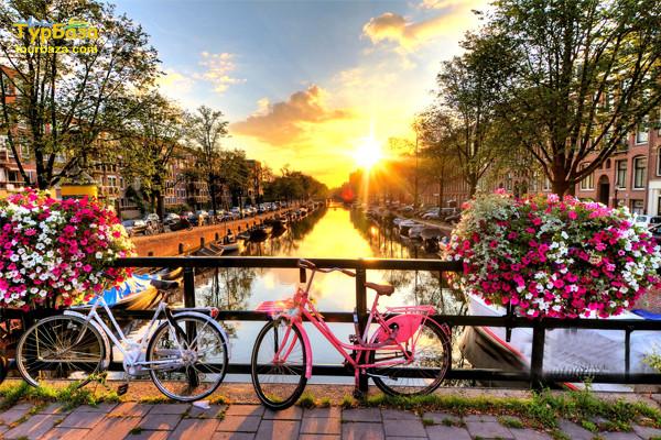 Амстердамські фарби та Париж 1