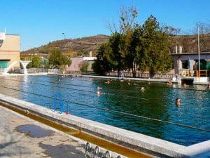 Термальный бассейн в Берегово - Берегово термальний басейн