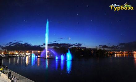 фонтан рошен винница