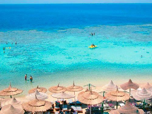 Пляжі Шарм Ель Шейху