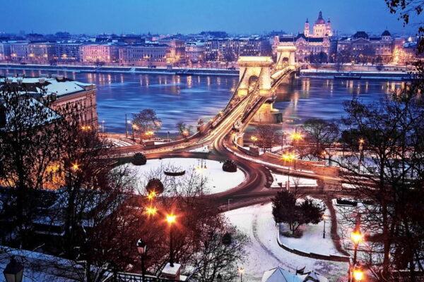 Вікенд в Будапешті та Відні Різдвяний
